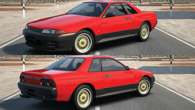 Illustration for article titled Lazy Editing: Nissan Skyline R32 // DR30