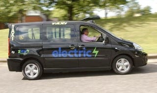 Illustration for article titled Electric Peugeots Trying To Edge Out London Taxis