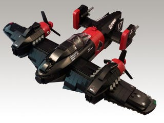 Illustration for article titled The Next Best Thing To Crimson Skies Lego Kits