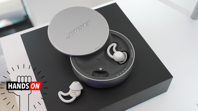Illustration for article titled Bose Made a White Noise Machine You Stick In Your Ears