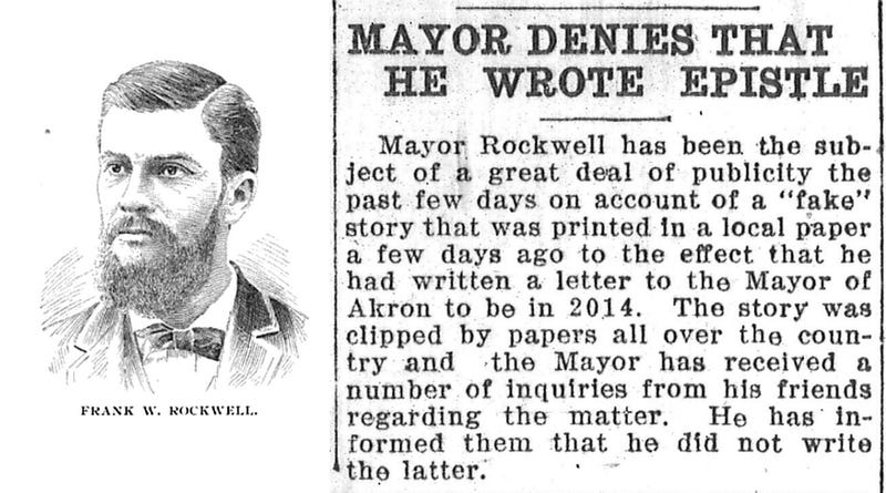 Illustration for article titled This Week in Time Capsules: The 100-Year Akron Mayor Capsule Hoax