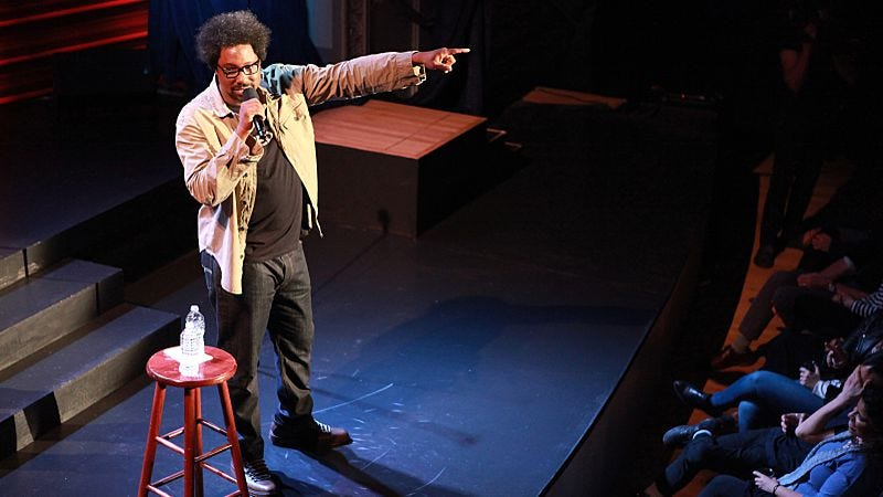 Illustration for article titled In Semi-Prominent Negro, W. Kamau Bell finds the performing confidence to match his wit