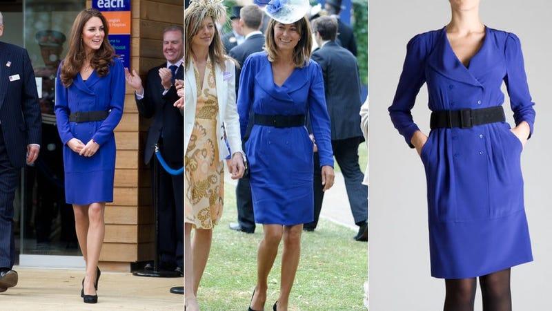Illustration for article titled Kate Middleton Borrowed Her Mother's Dress