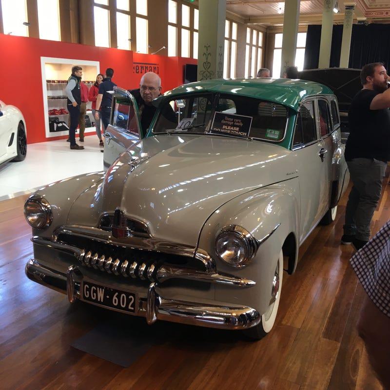 1953 FJ Holden Cordell wagon