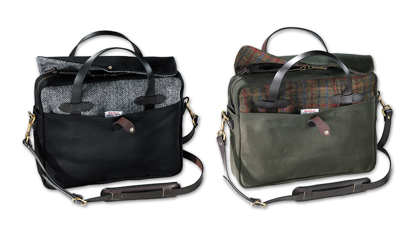 Illustration for article titled An Already Perfect Filson Briefcase Gets Better With Tweed