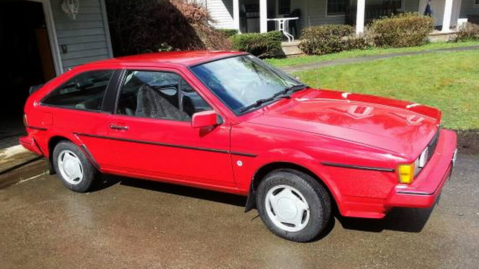 For $6,900, This 1985 VW Scirocco Might Be All That
