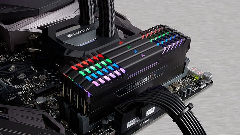 Corsair Vengeance RGB 32GB DDR4 RAM | $300 | Amazon
