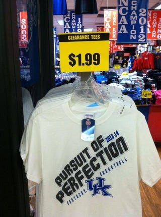 "Illustration for article titled Kentucky's ""Perfect Season"" Marketing Blitz Didn't Work Out"