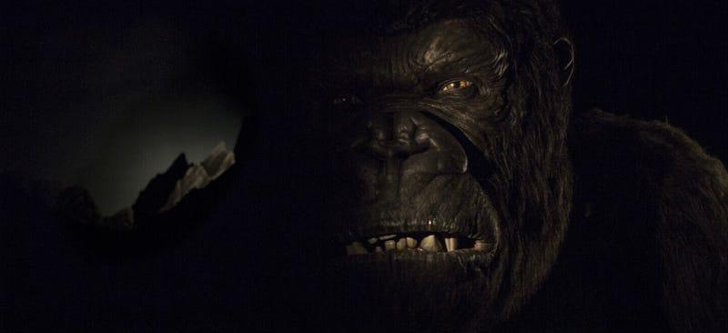 Kong as viewed from his new ride at Universal Studios Orlando. Image: Universal