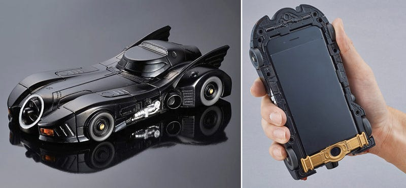 Illustration for article titled The Tim Burton-Era Batmobile Is the Best iPhone 6 Case