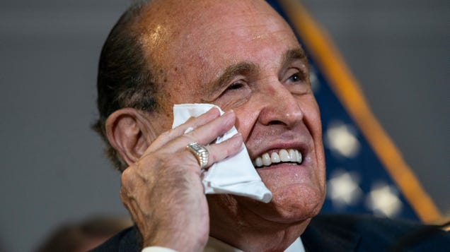 Rudy Sued by Dominion Voting Systems for $1.3 Billion
