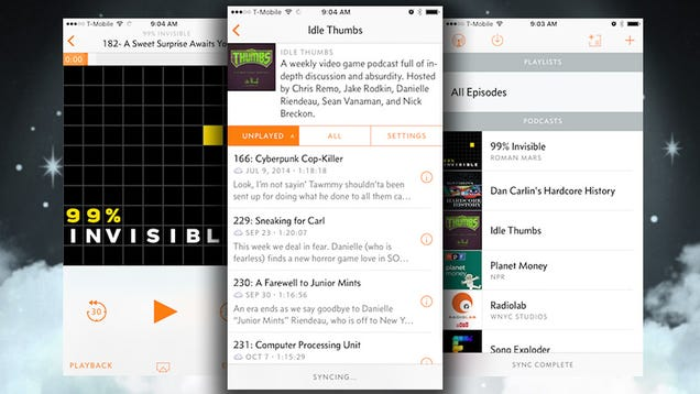 Overcast Goes Free, Improves Streaming, Adds Chapter Support, and More