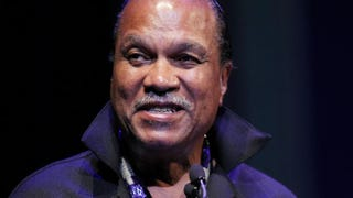 Billy Dee Williams making a few remarks at the 2013 Thelonious Monk International Jazz Saxophone Competition at the John F. Kennedy Center for Performing Arts on Sept. 16, 2013, in Washington, D.C.Paul Morigi/Getty Images for Thelonious Monk Institute of Jazz