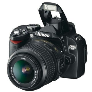 Illustration for article titled Nikon D60 to Sell For $750, Hits Stores in February
