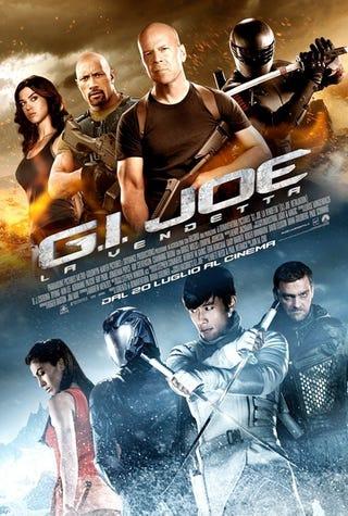 Illustration for article titled G.I. Joe: Retaliation International Posters