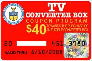 Illustration for article titled DTV Coupons to Run Out Next Month?