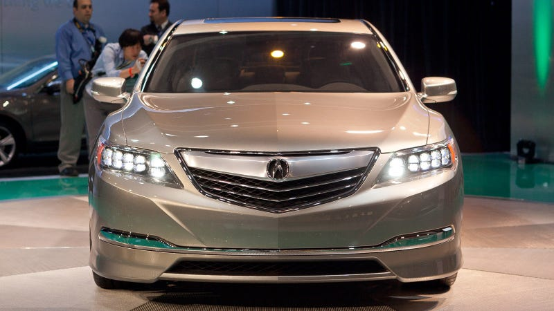 Illustration for article titled Acura RLX Gallery