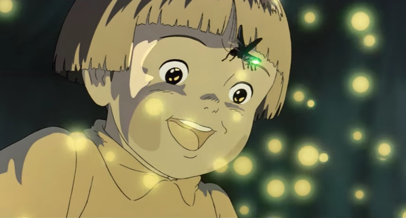 Illustration for article titled Grave Of The Fireflies' Movie Poster Has A Hidden (And Depressing) Secret