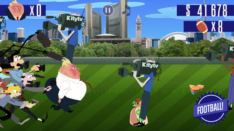 Illustration for article titled Toronto Mayor's Crack Scandal Lands Him His Own Video Game