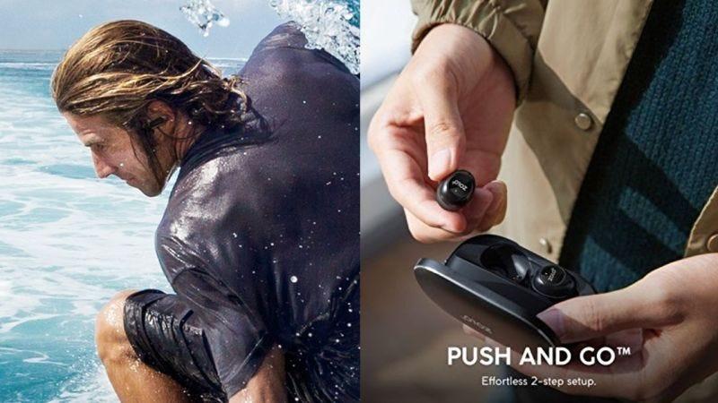 Auriculares Anker SoundCore Spirit X con resistencia al agua   $30   Amazon Auriculares Anker Solo Liberty True inalámbricos   $70   Amazon