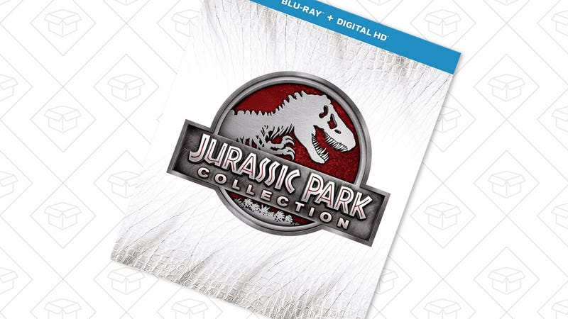 Jurassic Park Collection | Amazon | $25