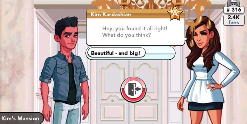 Illustration for article titled Kim Kardashian's Video Game Is The Stuff Of Nightmares