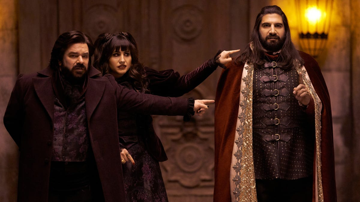 An all-star cast of vampires assembles for a stellar What We Do In The Shadows