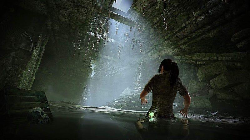 Shadow of the Tomb Raider [PS4] | $30 | AmazonShadow of the Tomb Raider [Xbox Portada de acero] | $35 | AmazonShadow of the Tomb Raider Croft Edition [PS4] | $50 | AmazonImagen: Amazon