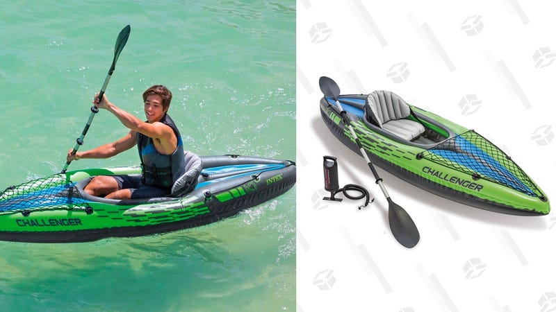 Intex Challenger K1 Kayak | $47 | Amazon | Prime members only