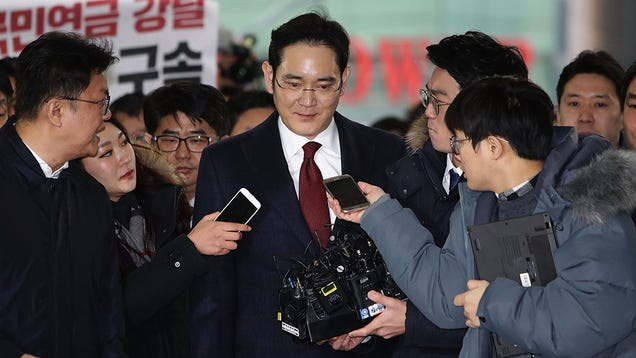 Top Samsung Exec Faces Arrest in Massive Corruption Scandal