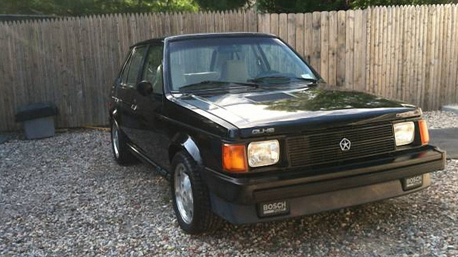 For 11500 This 1986 Shelby Dodge Could Let You Go Like Hell Smore 89 Omni Wiring