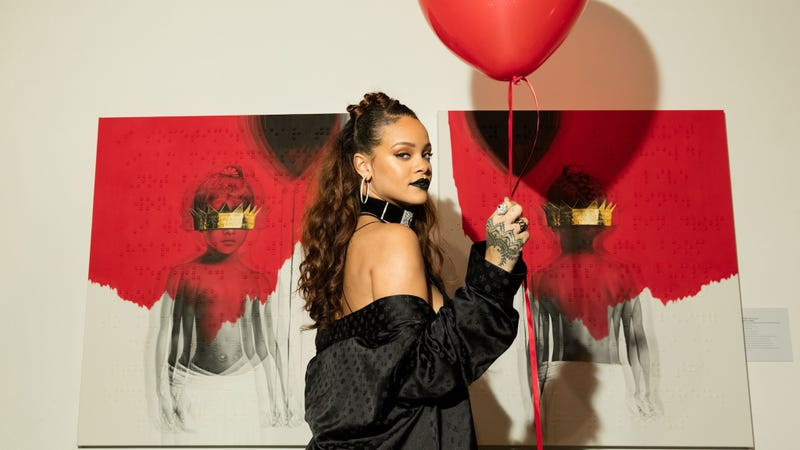 Illustration for article titled Rebel Queen Rihanna Christens Her AlbumANTI (Not R8) and Reveals Its Cover