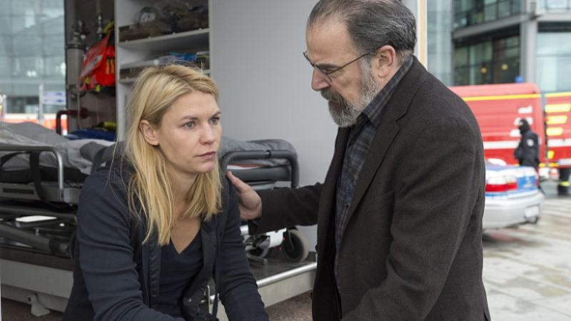 We're not happy about this either, Carrie. (Homeland)