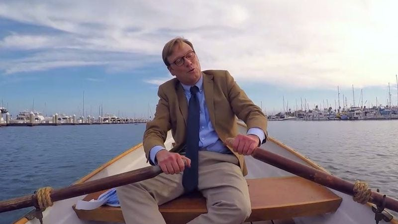 Illustration for article titled In this clip from Review a relaxing boat trip turns disastrous