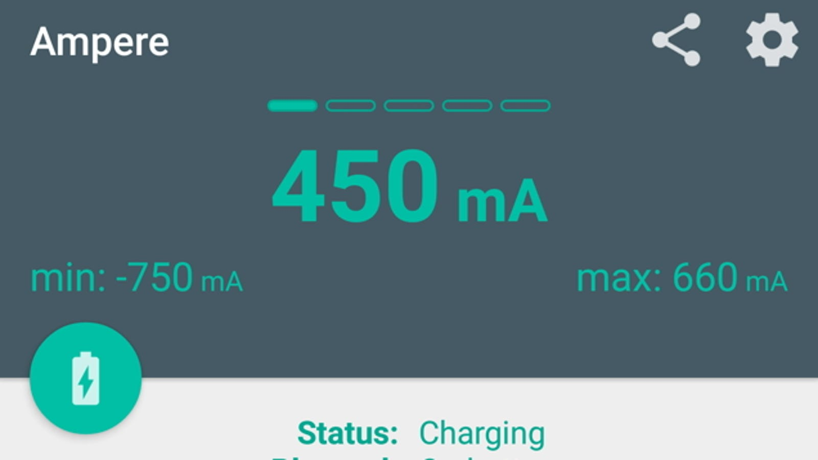 Ampere Tests Your Android Phone Chargers