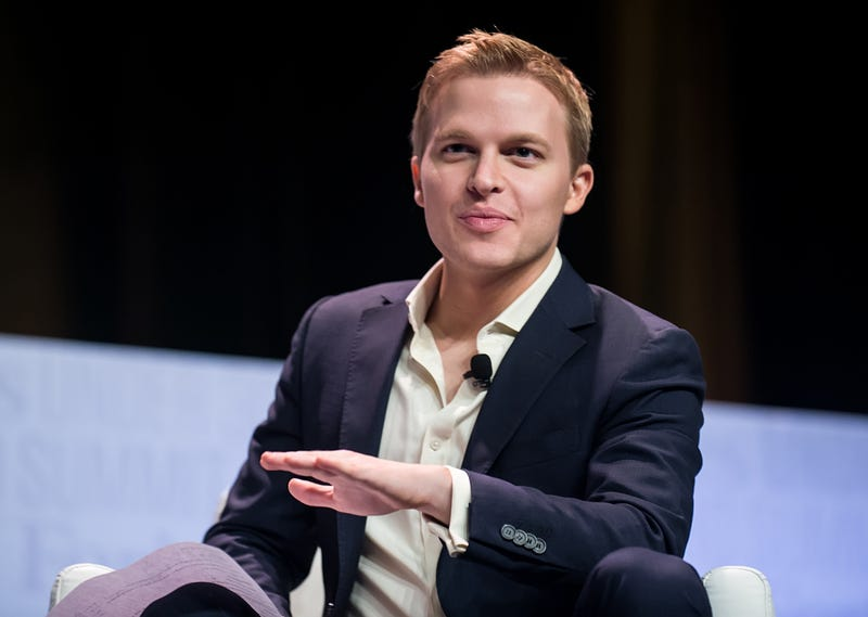 Ronan Farrow at the 2015 Forbes Under 30 Summit  in Philadelphia. (Photo: Gilbert Carrasquillo/Getty Images)