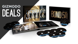 Illustration for article titled 23 James Bond Blu-rays For Under $100, Free Month Of Redbox Streaming