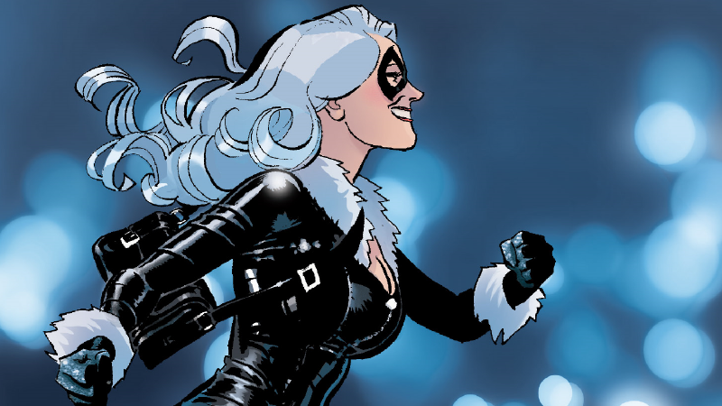 Felicia Hardy, Marvel's Black Cat, in Spectacular Spider-Man #300.