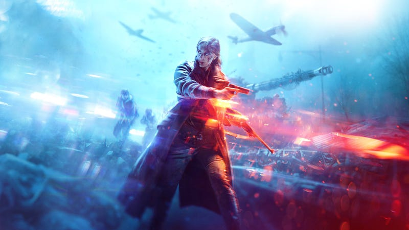 Illustration for article titled Here's Our First Look AtBattlefield V, Which Goes Back To WWII