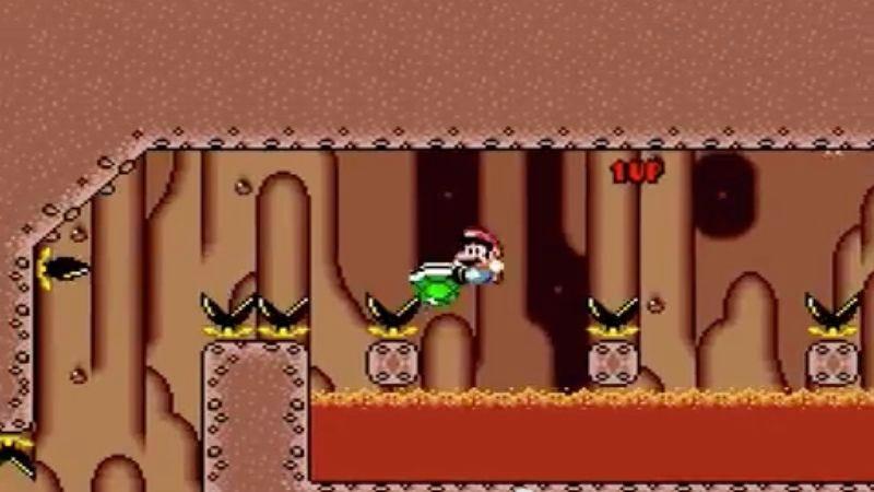 Watch someone beat the world's hardest Super Mario World level
