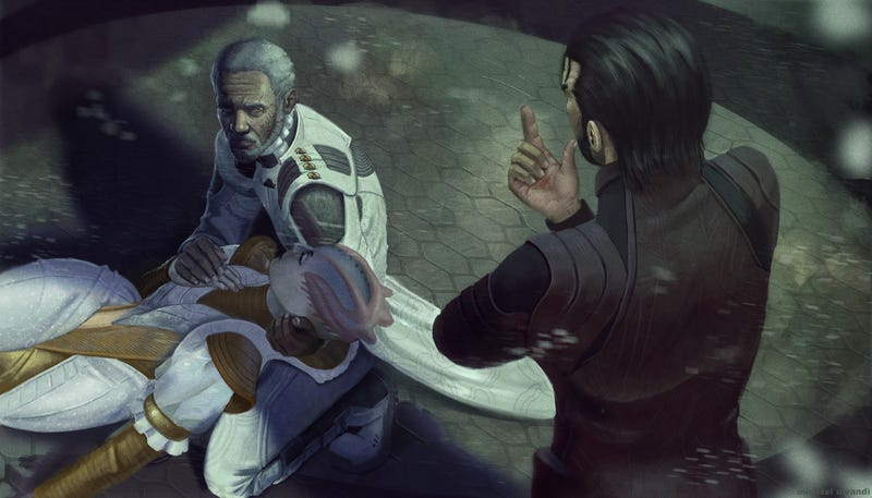 Illustration for article titled Othello x Mass Effect?
