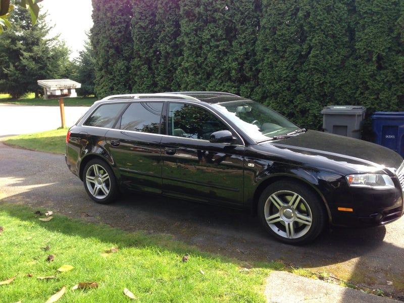 Loaner Car - Audi loaner car