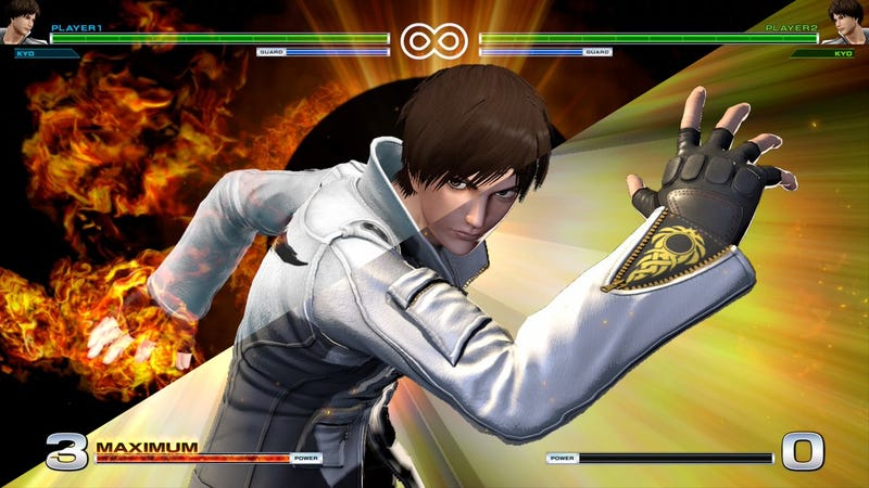 Illustration for article titled The King Of Fighters XIV Update Makes The Game Less Ugly