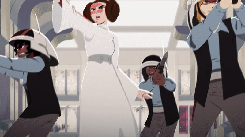 The Original Star Wars Films Have Been Turned Into Animated Shorts