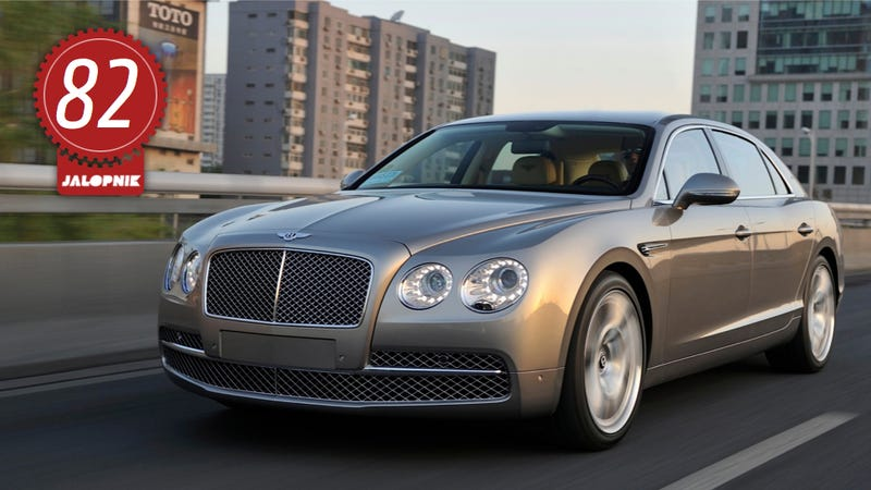 Illustration for article titled 2014 Bentley Flying Spur: The Jalopnik Review