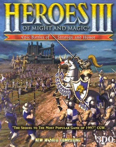 Cover of Heroes 3 for PC