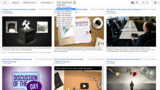 Illustration for article titled Grid Preview Brings a New, Image-Focused Layout to Google Reader