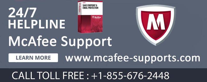Illustration for article titled McAfee Helpline   Number +1-855-676-2448