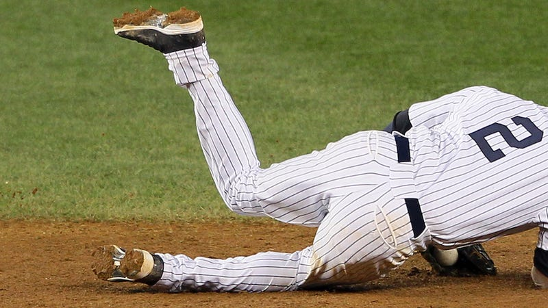 Illustration for article titled Yankees: Derek Jeter's Injury Tied To Steroid Use. No, Seriously.