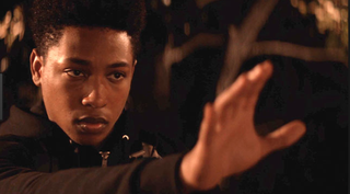 Bo, played by Jacob Latimore, in Sleight (Youtube screenshot)